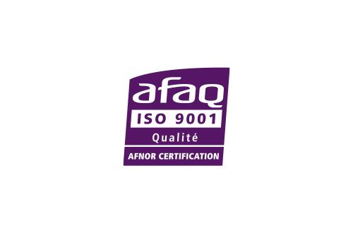 Certification AFAQ 9001 Qualité