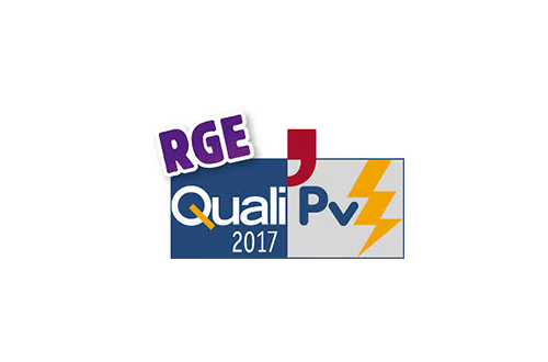 Certification RGE Quali PV